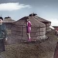 杨峰的摄影、音乐与时尚艺术  摄影: 杨峰(麦道百清)  出镜: 杭盖乐队  模特: 陈安乐   模特礼服:TANYA 视觉: LILY 化妆:王亮