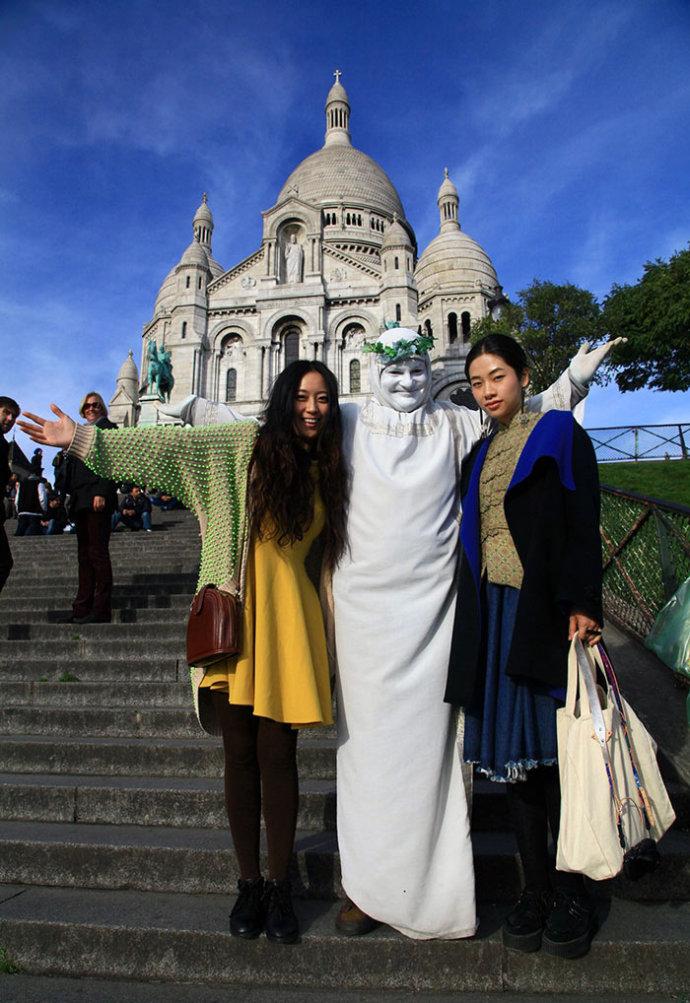 法国寻美之行5 圣心堂 埃菲尔铁塔 by toni 雌和尚