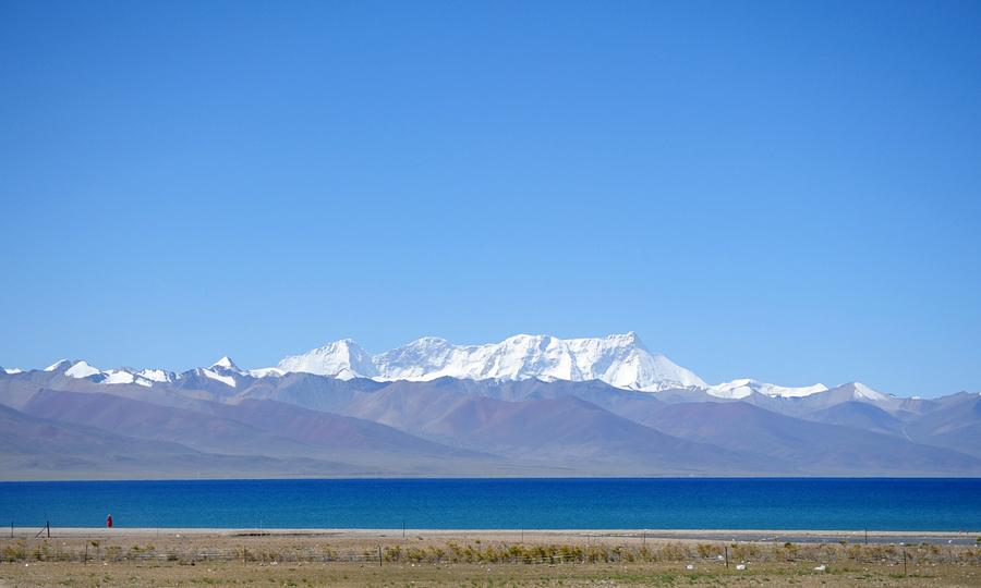 """西藏圣湖纳木错的""""蓝调"""""""