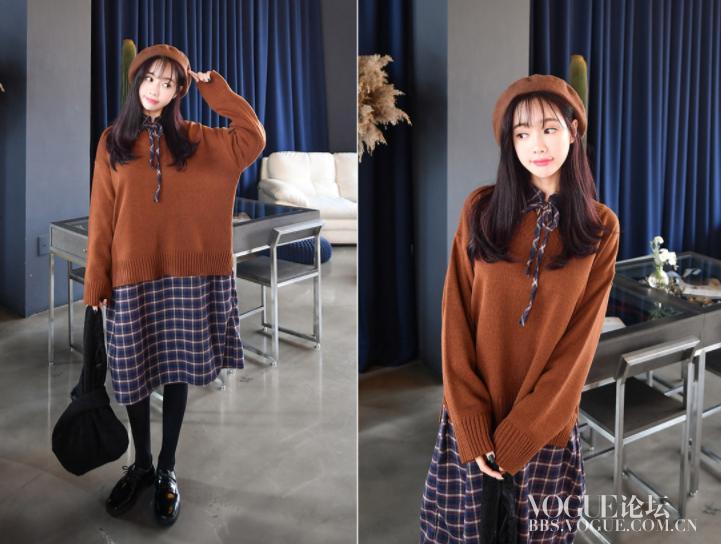 针织宽松毛衣2 棕色.png