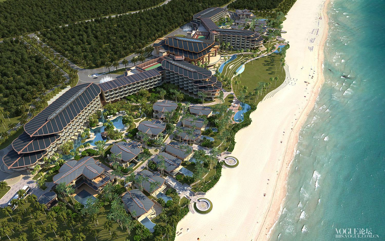 石梅湾威斯汀度假酒店 - 建筑外观.jpg