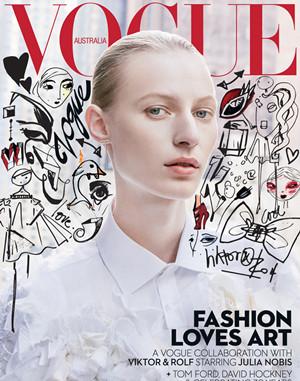 《Vogue》澳版12月封面
