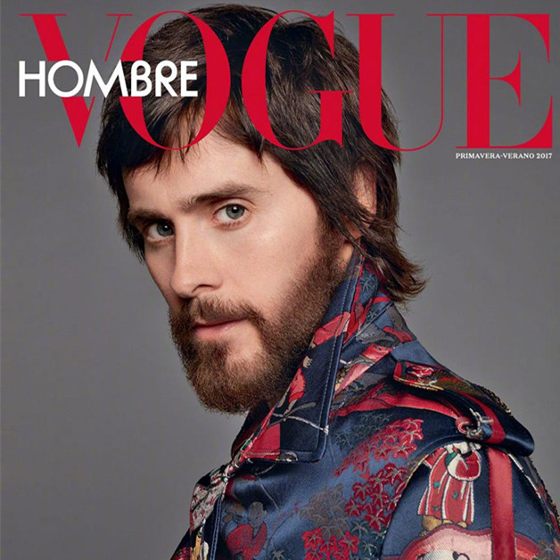 莱托少爷Jared Leto登上《Vogue Hombre》