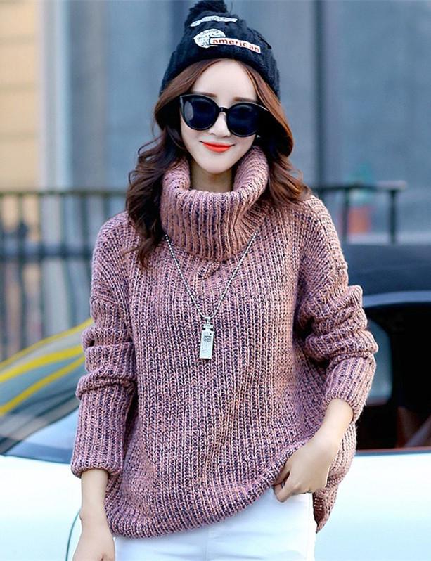冬日毛衣的温暖