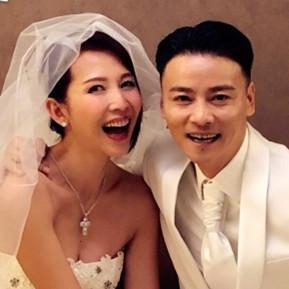 蔡少芬张晋结婚十周年重穿婚纱