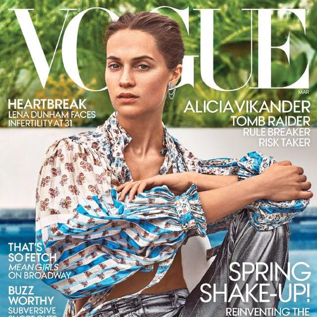 美国版《Vogue》三月开季刊