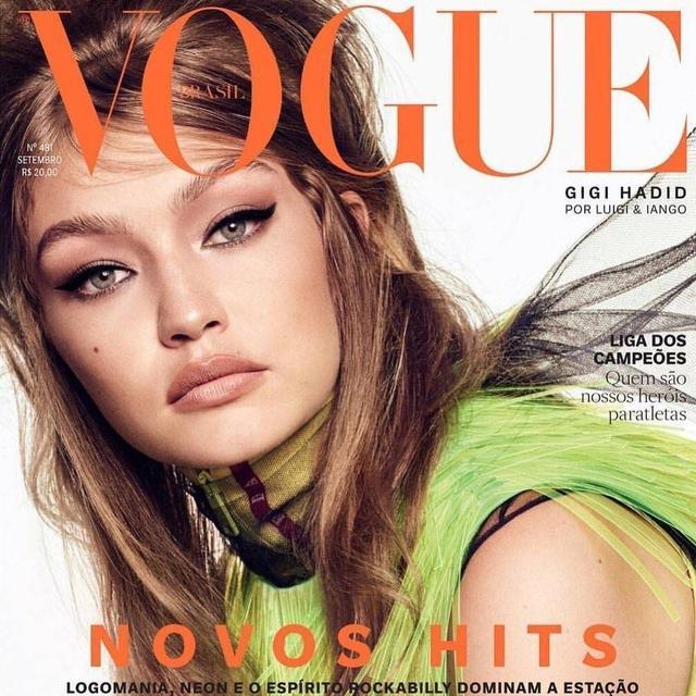 巴西版《Vogue》2018年9月刊