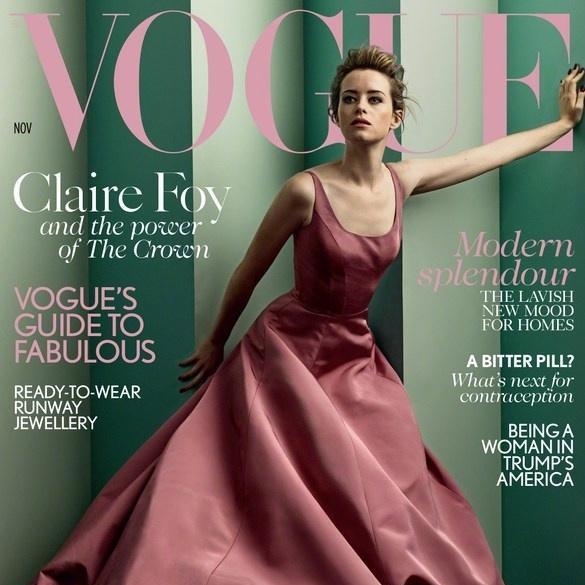 美国版《Vogue》2018年11月刊