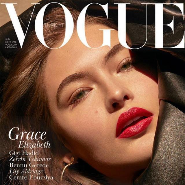 土耳其版《Vogue》2018年11月刊