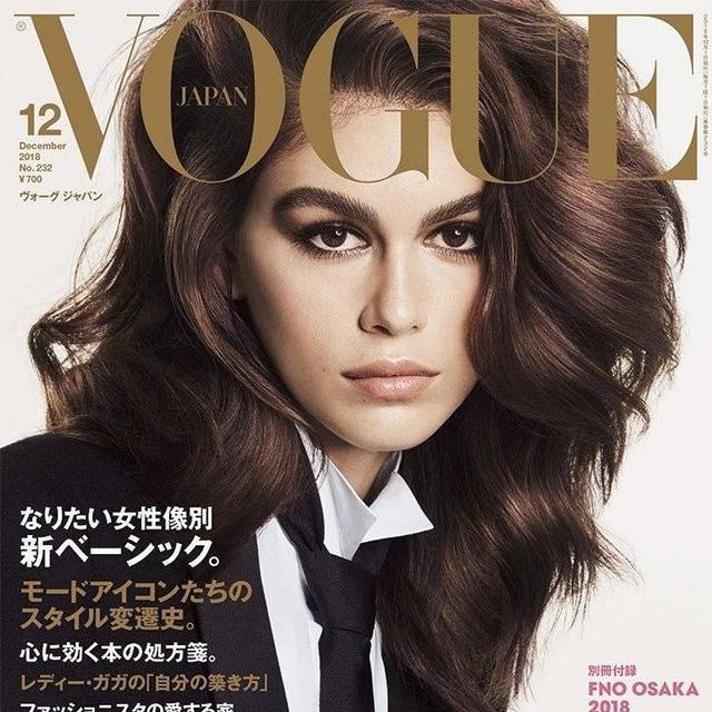 日本版《Vogue》2018年12月刊
