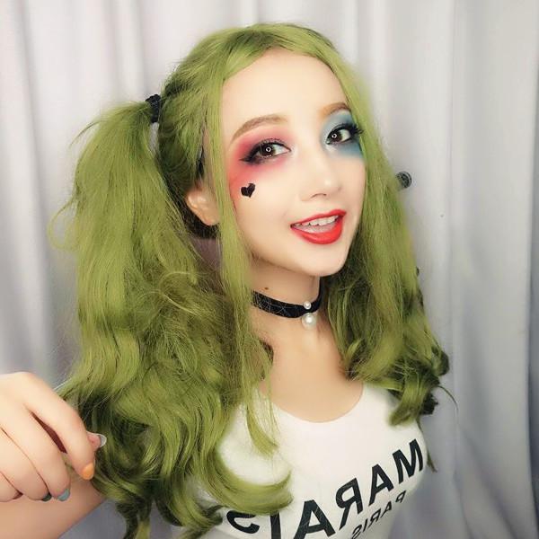 小丑女哈莉仿妆