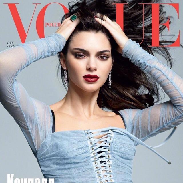 俄罗斯版《Vogue》2019年5月刊