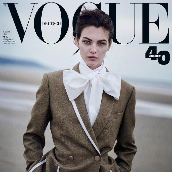 德国版《Vogue》2019年7月刊